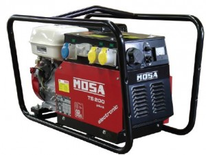 mosa electronic mower